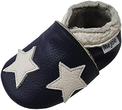 Mejale Baby Shoes Soft Soled Leather