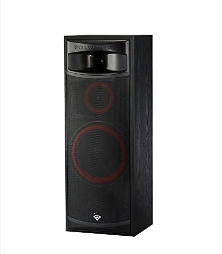 Cerwin-Vega XLS-12 3-Way Home Audio Floor Tower Speaker (Each, Black) by Cerwin-Vega