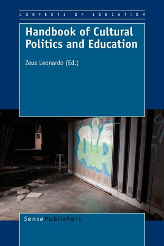 Handbook of Cultural Politics and Education (Contexts of Education)
