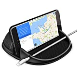 Willtech Car Cell Phone Holder, Smartphone Holder for Car Auto Nonslip Dashboard, Car Holder for iPhone X XS Max XR 8 7 6 6S Plus Samsung Galaxy/Huawei/One Plus/Sony Xperia/GPS