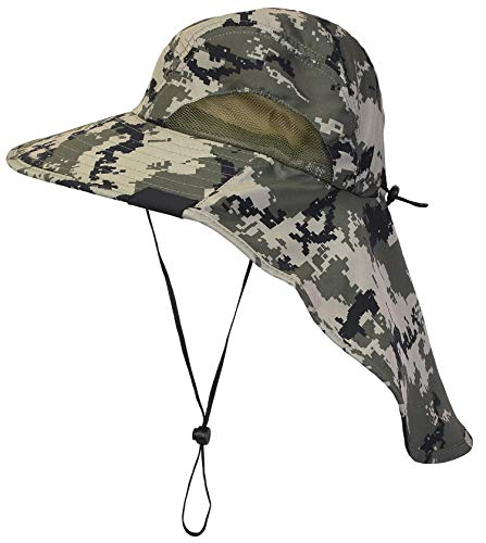f634227e0 Top 10 Fishing Hat With Necks of 2019 - Best Reviews Guide