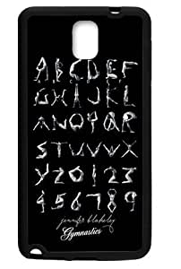 Hoomin Gymnastics Letters Samsung Galaxy Note3 Cell Phone Cases Cover Popular Gifts(Laster Technology)