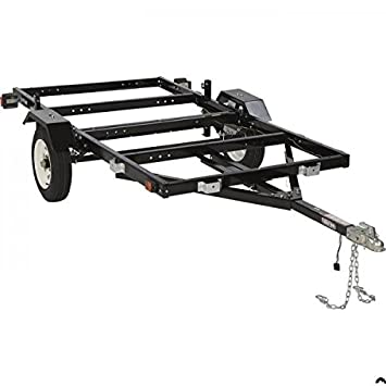 KODIAK KOD-FLD-TR 3 Way Folding/Utility Flat Deck and Boat Trailer ...