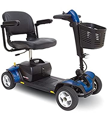 Pride Mobility - Go-Go Sport - Travel Scooter - 4-Wheel - Blue