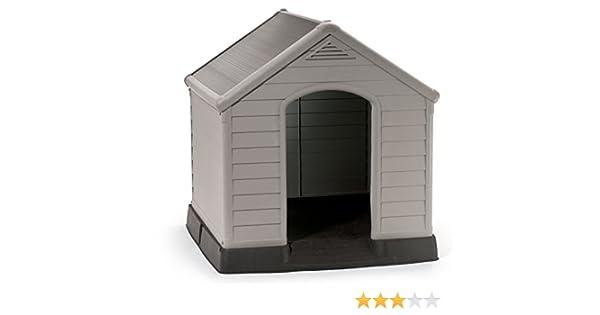 Keter 17360369 - Caseta para Perro, Color Beige/Verde: Amazon.es: Productos para mascotas