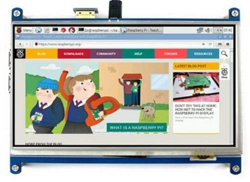 Muccus IPS 7 0 inch HD SPI TFT LCD Resistive Touch HDMI Display Screen 1024  * 600 for Raspberry Pi3/Raspbian/Ubuntu