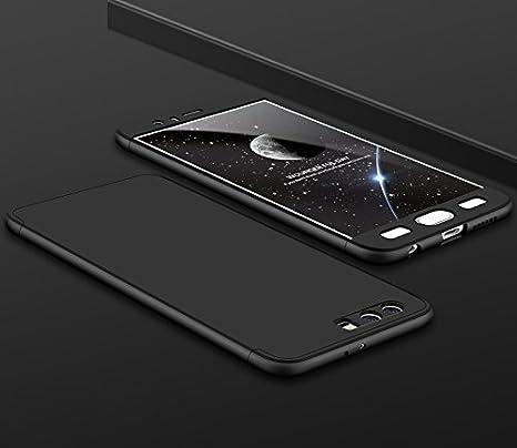 PAIPAIGUAN Funda Huawei Honor 9 Carcasa Huawei Honor 9[Protector de Pantalla de Vidrio Templado] 3 en 1 Desmontable Anti-Arañazos Huawei Honor 9 Funda ...