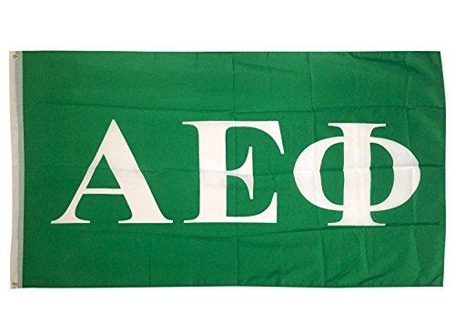 (Alpha Epsilon Phi Letter Sorority Flag Greek Letter Use as a Banner 3 x 5 Feet Sign Decor A E Phi)