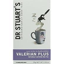 Dr Stuarts Valerian Plus Herbal Tea 15 Bags (Pack of 4)