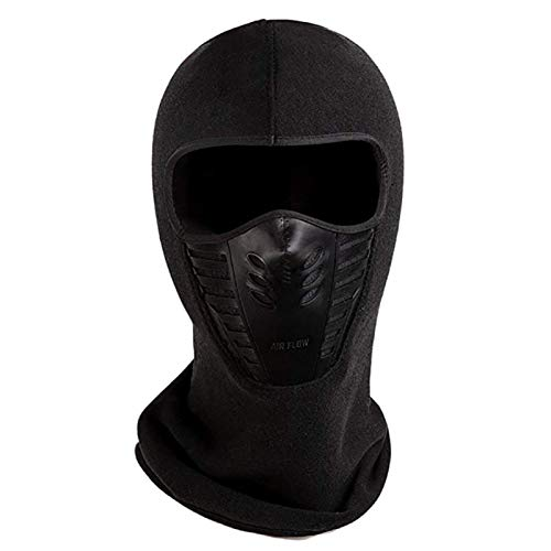 (S-Sport-Life - Winter Warm Cycling Windproof Face Mask Motocross Face masked Cs Mask Outdoor Warm Bicycle Thermal)