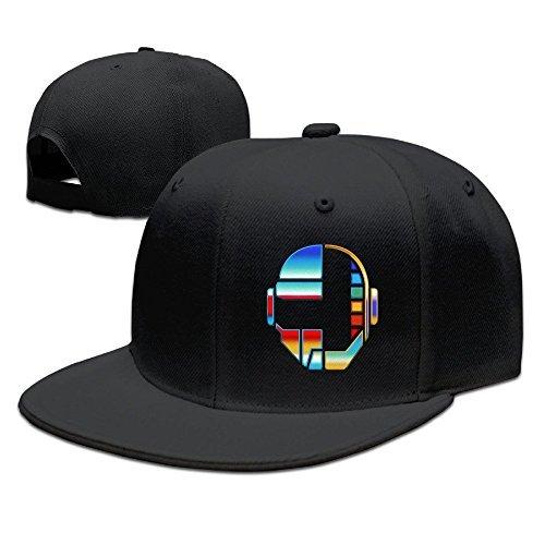 POPYol Daft Punk Helmet Flat Baseball Caps Hats For - Accessories Punk Daft