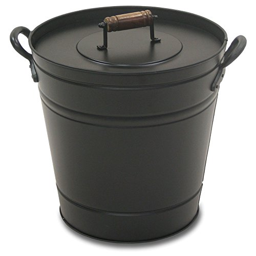 Pilgrim Home and Hearth 19504 Air Insulated Ash Bucket by Pilgrim Home and Hearth