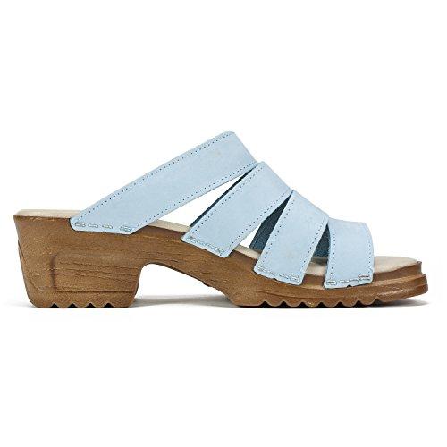Scarpe Da Montagna Bianca Womens Hartley Luce Sandalo Blu