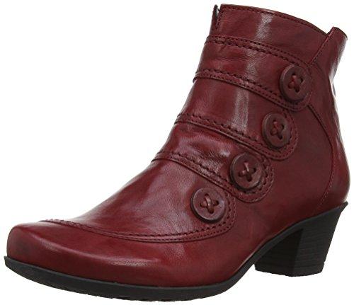 Gabriela Sabatini Georgie - Botas Mujer Dark Red Leather