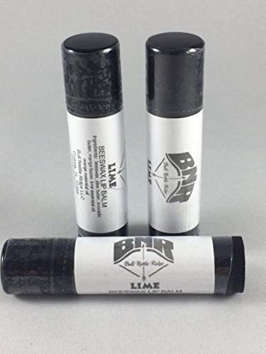 Beeswax Lip Balm - Lime, 3 tube set by Bull Nettle Ridge