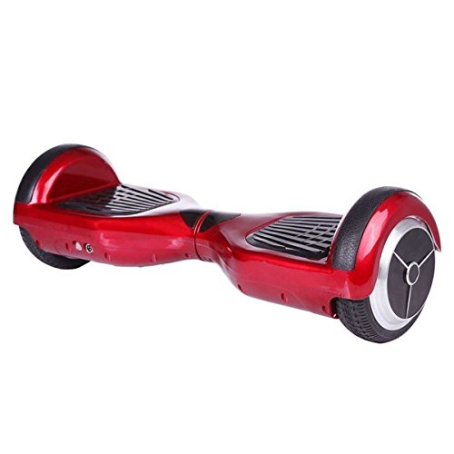 Mini Smart Self-balancing Two-wheel Electric Scooter with LED Light (red)