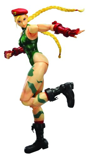 SUPER STREET FIGHTER IV PLAY ARTS KAI CAMMY ACTION FIGURE