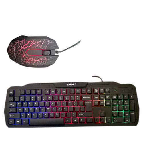 22c21be05ed Amazon.in  Buy Brand Conquer Samurai Gaming Keyboard and Mouse Combo Set  with Multi Back Light (Black) Online at Low Prices in India