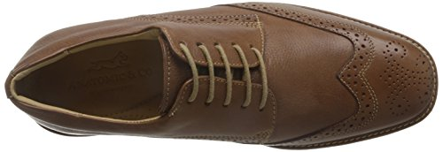 Anatomic&Co Manaus Mens Smart Lace Up Schuhe Leder Brown