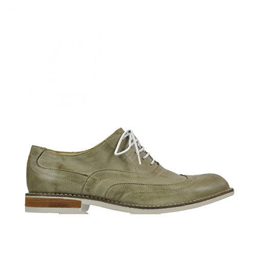 The London À 9 Lacets Beige 9382 Cuir Cloud Pittsburgh Taupe Chaussures mnwvN80