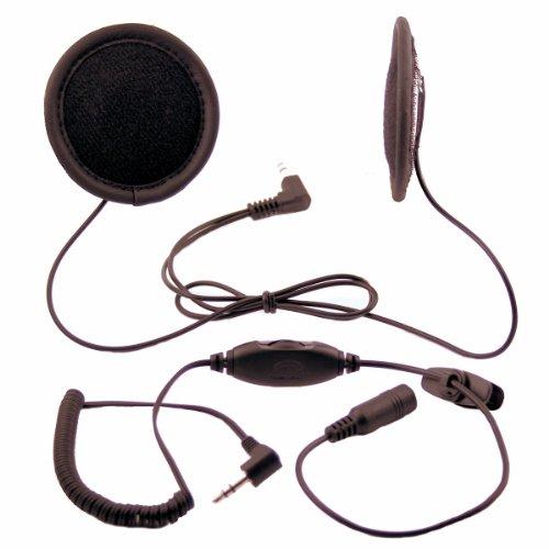 Exhaust Remus Motorcycle - Tork X2 Stereo Motorcycle Helmet Speakers with Volume Control