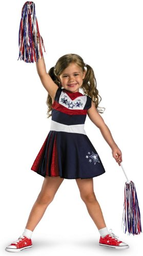 [Disguise Superstar Spirit Girls Costume, 4-6X] (Cheerleading Costumes Halloween)