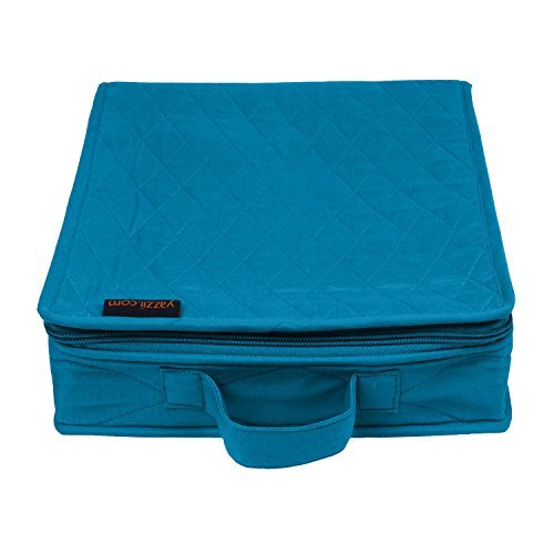 Yazzii Craft Box Fabric Top, Aqua