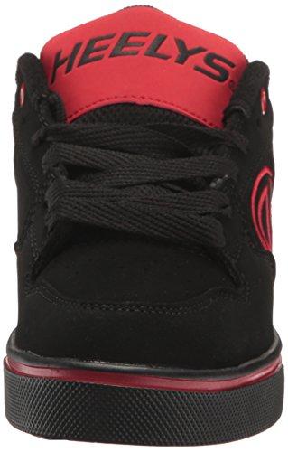 Red Kid Big Heelys Plus Skate Little Black Kid Motion Shoe zw14z