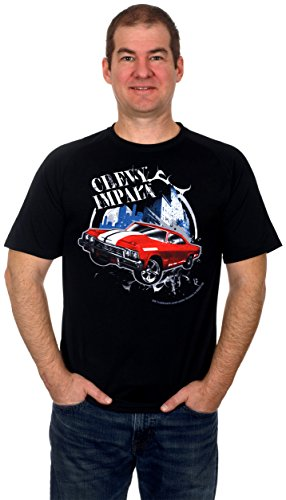 Chevy Impala 60S Muscle Machine Mens Shorts Sleeve T Shirt  2X