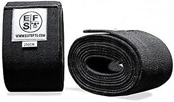 13ea1801f0 EliteFTS Super Heavy Knee Wrap - Pair - 200cm