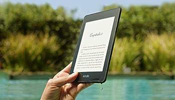 E-reader Kindle Paperwhite, resistente al agua, color Negro, 8 GB Wi-Fi, 10ª generación