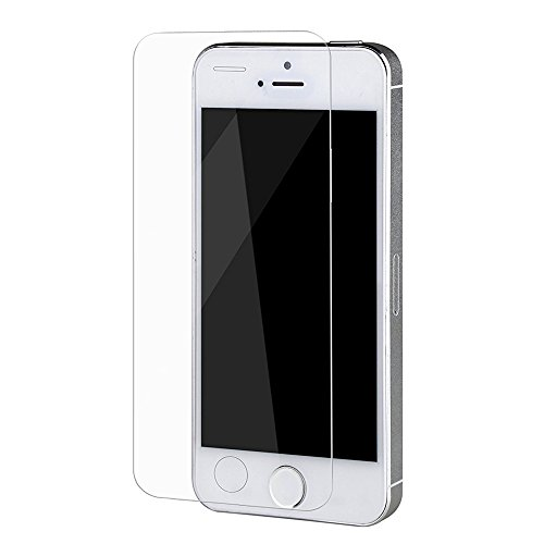 Sunvito 5/5S Tempered Glass Screen Protector, HD Clear Film Screen Protector for iPhone 5/5S,Easy-Installation