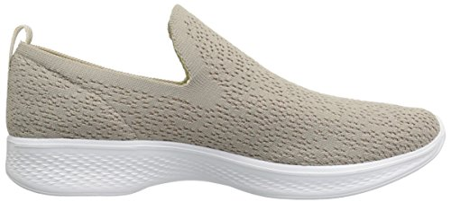 Taupe Walk 14918 Trainers 4 Skechers Go Gifted wn4q1qYx