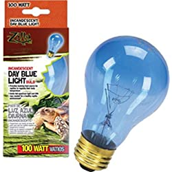 Zilla 09918 Day Blue Light Incandescent Bulb, 100-Watt