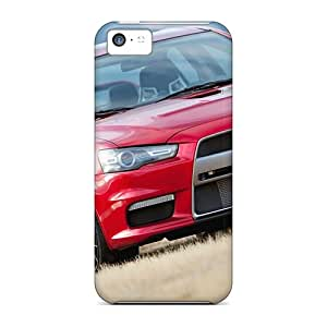 Anti-Scratch Hard Phone Covers For Apple Iphone 5c With Support Your Personal Customized Vivid Mitsubishi Vehicles Pictures TrevorBahri