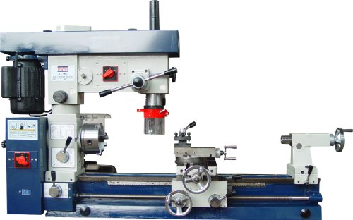 Bolton Tools Combo Lathe, Mill Drill 12'' x 30'' by Bolton Tools