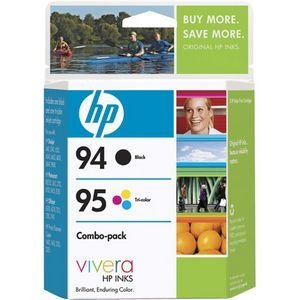(Combo Pack Tri-color and Black Ink Cartridge 95 (C9354FN#140) -)