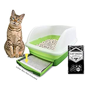 """Peritas Activated Carbon Cat Pads for Breeze Tidy Cat Litter System 16.9""""x11.4"""" (20) 82"""