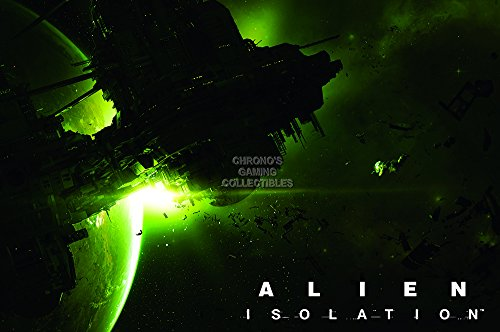 CGC Huge Poster - Alien Isolation PS4 PS3 XBOX ONE 360 GLOSSY FINISH - OTH351 (24