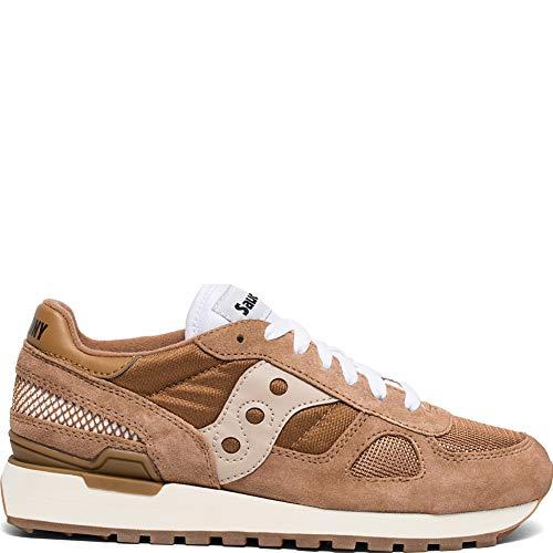 - Saucony Originals Women's Shadow Original Vintage Sneaker Brown/tan 7 M US