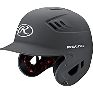 Rawlings R16 Series Matte Batting Helmet, Graphite, Junior