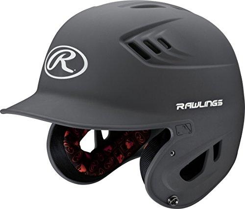 Rawlings R16 Series Matte Batting Helmet, Graphite, Junior