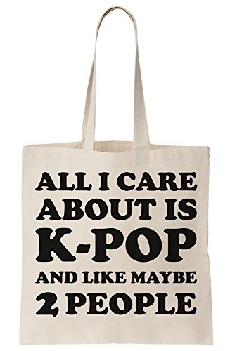 People Like 2 About And Care Bag Maybe Canvas I Is K All pop Tote vqfTxnw