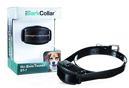 DogWatch The BarkCollar No-Bark Training Collar with Bark Forgiveness, Auto-Adjusting Levels, Bark Counter, and Rechargeable Battery