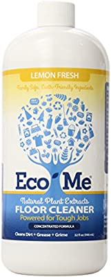 Eco-Me Natural Floor Cleaner, Lemon Fresh, 32 Fluid Ounce