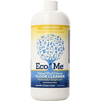 Eco Me Natural Floor Cleaner, Lemon Fresh, 32 Fluid Ounce
