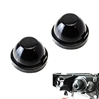 iJDMTOY (2) Rubber Housing Seal Caps For Headlight Install HID Conversion Kit, LED Headlights Bulbs, Aftermarket Headlamp Retrofit, etc