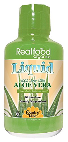 Country Life – Realfood Organics Basic Aloe Liquid – 32 Ounce For Sale