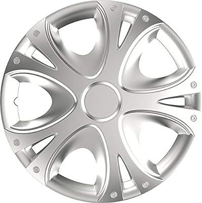 UKB4C Set of 4 15 Silver Wheel Trims//Hub Caps fits Toyota IQ Yaris