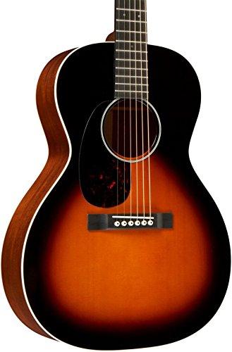 Martin CEO-7 Left-Handed Grand Concert Acoustic Guitar Sunburst - Martin Sunburst Guitar